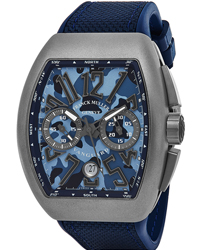 Franck Muller Vanguard  Men's Watch Model V 45 CC DT TT MC BL