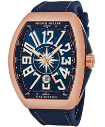 Franck Muller Vanguard  Men's Watch Model V 45 SC DT YACHTING 5N BL