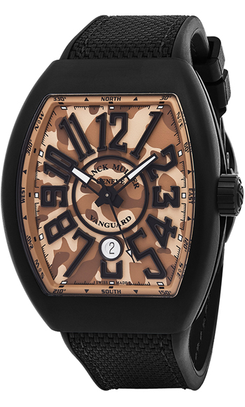 Franck Muller Vanguard  Men's Watch Model V45 SC DT TT NR MC SB CAMOUFLAGE
