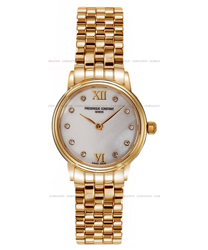 Frederique Constant Slim Line Ladies Watch Model FC-200MPWDS5B