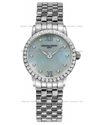 Frederique Constant Slim Line Ladies Watch Model FC-200MPWDSD6B