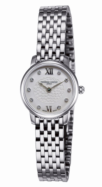 Frederique Constant Slimline Ladies Watch Model FC-200WHDS6B