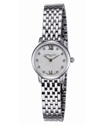 Frederique Constant Slimline Ladies Watch Model FC-200WHDS6B Thumbnail 1
