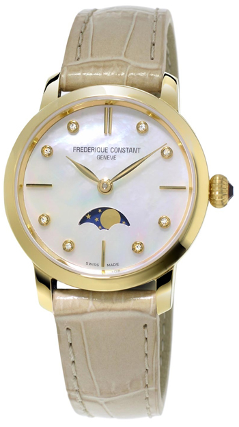 Frederique Constant Slimline Ladies Watch Model FC-206MPWD1S5