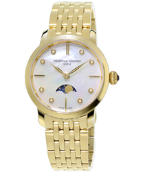 Frederique Constant Slimline Ladies Watch Model FC-206MPWD1S5B