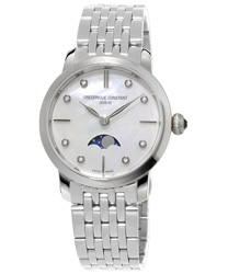 Frederique Constant Slimline Ladies Watch Model FC-206MPWD1S6B