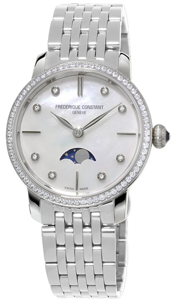 Frederique Constant Slimline Ladies Watch Model FC-206MPWD1SD6B
