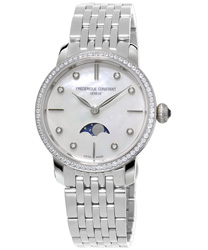 Frederique Constant Slimline Ladies Watch Model FC-206MPWD1SD6B Thumbnail 1