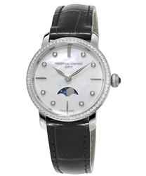 Frederique Constant Slimline Ladies Watch Model FC-206MPWD1SD6
