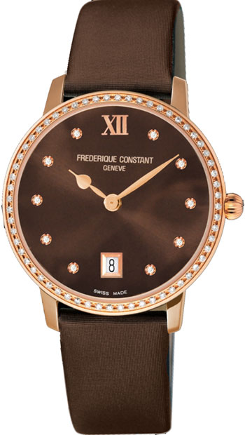 Frederique Constant Slimline Ladies Watch Model FC-220C4SD34