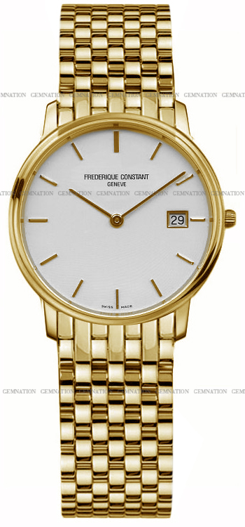 Frederique Constant Slim Line Mens Wristwatch Model: FC-220SW4S5B