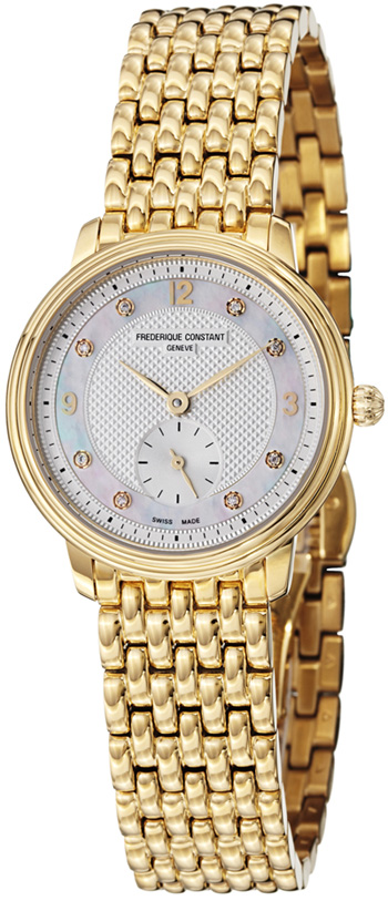 Frederique Constant Slimline Ladies Watch Model FC-235MPWD1S5B