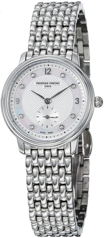 Frederique Constant Slim Line Ladies Wristwatch Model: FC-235MPWD1S6B