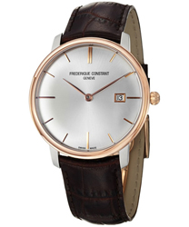 Frederique Constant Slim Line Mens Wristwatch Model: FC-306V4STZ9