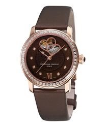 Frederique Constant Double Heart Beat Ladies Wristwatch