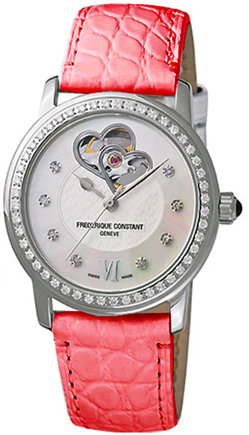 Frederique Constant Double Heart Beat Ladies Watch Model FC-310DHB2PD6