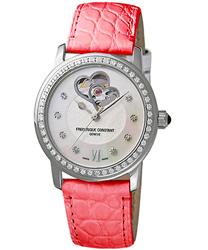 Frederique Constant Double Heart Beat Ladies Watch Model: FC-310DHB2PD6