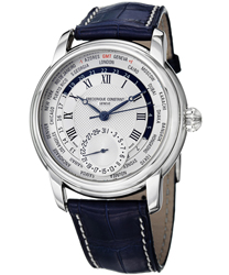 Frederique Constant Worldtimer Men's Watch Model: FC-718MC4H6-BLUE