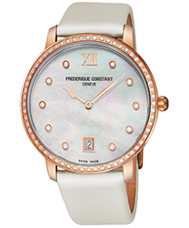 Frederique Constant Slim Line Ladies Watch Model: FC220MPW4SD34