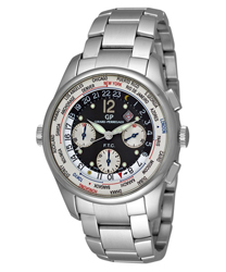 Girard-Perregaux World Timer WW.TC Chronograph Men's Watch Model 49805-11-255-11A