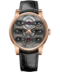 Girard-Perregaux Neo-Tourbillon Three Bridges Rose Gold Men's Watch Model: 99270-52-000-BA6A