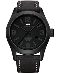 Glycine Incursore All Black Stealth Men's Watch Model 3874.999
