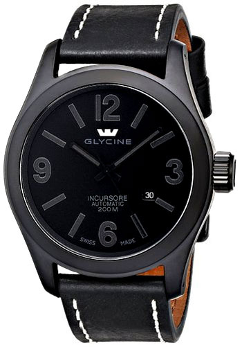 Glycine Incursore All Black Stealth Men's Watch Model 3874.999 Thumbnail 4