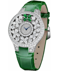 Graff Butterfly Ladies Watch Model BF32WGED-Emeraldbtfly