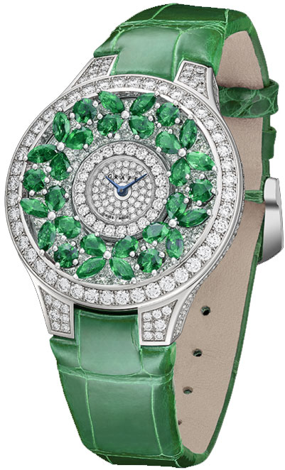 graff butterfly haute joaillerie emerald ladies watch model bf32wged On emerald watches