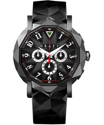 Graff ChronoGraff 42mm Men's Watch Model CG42DLCB