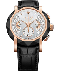 Graff ChronoGraff 45mm Men's Watch Model: CG45DLCPGW3