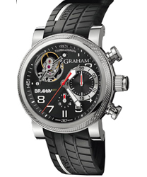 Graham Tourbillograph Mens Wristwatch Model: 2BRTS.B01A.K68S