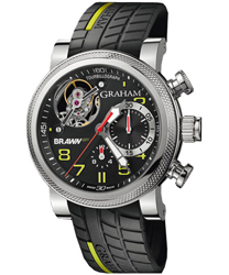 Graham Tourbillograph Mens Wristwatch Model: 2BRTS.B03A.K68S