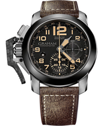 Graham Chronofighter Oversize Black Sahara   Model: 2CCAC.B02A.L43S