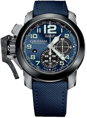 Graham  Chronofighter Oversize Men's Watch Model 2CCAC.U01A.T22S