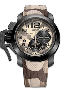 Graham Chronofighter Oversize Black Arrow Men's Watch Model: 2CCAU.E03A.K110N