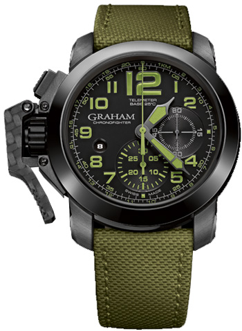 Graham  Chronofighter Oversize Men's Watch Model 2CCAU.G01A
