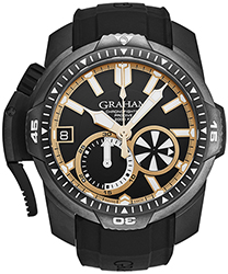 Graham Chrnofighter Men's Watch Model: 2CDAB.B04A.K80N