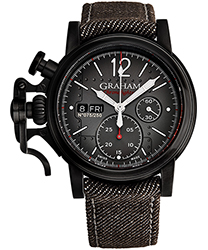 Graham Chronofighter Men's Watch Model 2CVAV.B19A.T39B