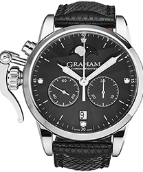 Graham Chronofighter Ladies Watch Model: 2CXBS.B04A