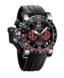 Graham Chronofighter Mens Wristwatch Model: 2OVGS.B20A