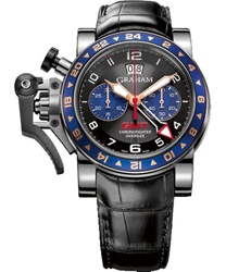 Graham  Chronofighter Oversize GMT Steel   Model: 2OVGS.B26A.C118