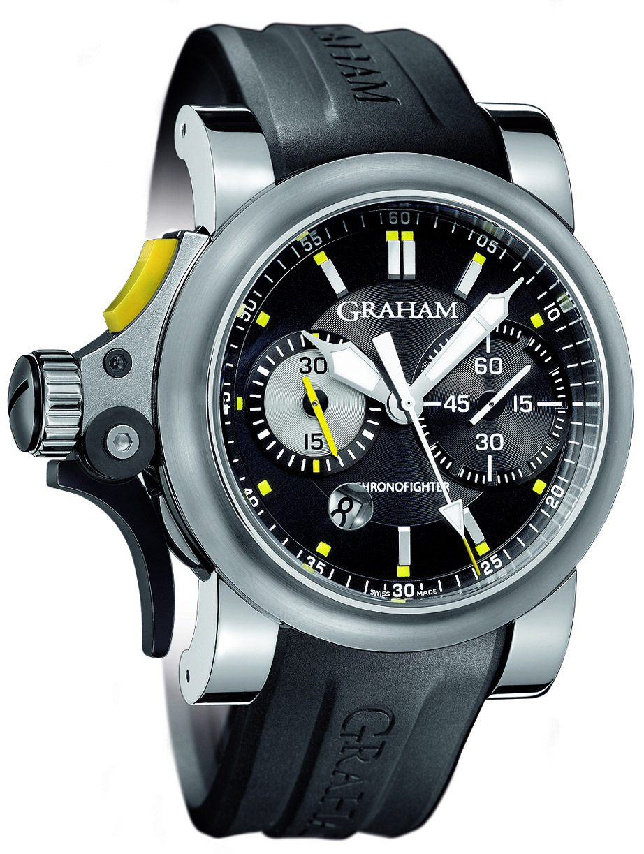 chronograph pre oversize chronofighter graham owned watches