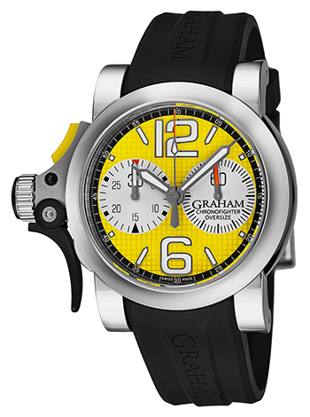 Graham Chronofighter Men's Watch Model 2TRAS.Y01A.K43B