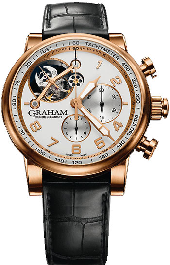 Graham Tourbillograph Men's Watch Model 2TSAR.W01A