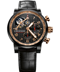 graham geo. graham the moon limited edition of 8 men's