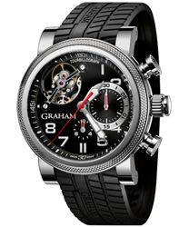 Graham Tourbillograph Mens Wristwatch Model: 2TWTS.B05A