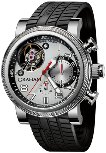 Graham Tourbillograph Trackmaster Mens Wristwatch Model: 2TWTS.S03A