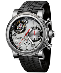 Graham Tourbillograph Mens Wristwatch