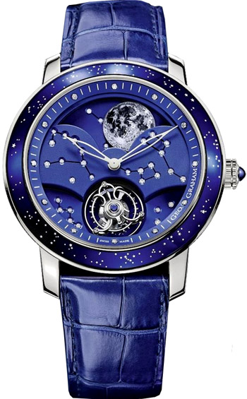 Graham Geo. Graham The Moon Limited Edition of 8 Men's Watch Model 2GGAW.U01B